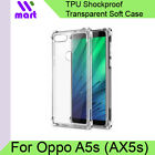 OPPO A5s (AX5s) Transparent Case Soft Shockproof / Back Cover 4-corners bumper a