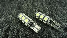 KIA CAR BULBS LED ERROR FREE CANBUS 13 SMD XENON WHITE W5W 501 SIDE LIGHT BULB