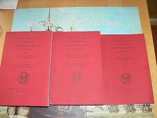 A SURVEY OF NUMISMATIC RESEARCH 1978 - 1984. Complete 3 Volumes Set.