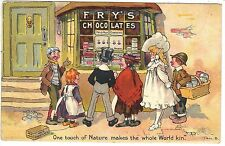 Food Advertising Postcard