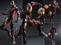 Play Arts Kai Marvel Comics Variant Avengers Iron Man Figure Figurine No Box