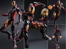 Play Arts Kai Marvel Comics Variant Avengers Iron Man Figure Figurine No Box