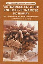 Vietnamese-English/English-Vietnamese Dictionary: With a Supplement of-ExLibrary