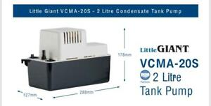 Little Giant VCMA20S Condensate Removal Tank Pump