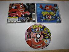 Crash Bandicoot 2 Coltex Strikes Back Playstation PS1 Japan import
