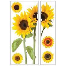 Sticky Pix Sunflowers Adhesive Wall Decor Set