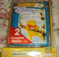 Tele Story  Disney Winnie The Pooh Story Book and cartridge