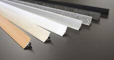 👑 3 m ABSCHLUSSLEISTEN Winkelleisten Küche Arbeitsplatte Wandabschlussleiste