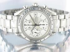 Omega speedmaster chronographe en acier inoxydable montre automatique argent omega box