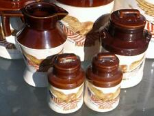Spirit of '76 by McCoy Kitchen Set – 3 canisters, creamer, sugar, sal... Lot 235