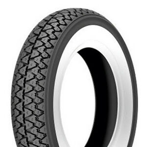 Kenda White Wall Tyre 3.50-10 K333 4PR 51J Tt For 10 Inch Scooter Vespa Px