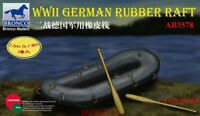 Bronco 1/35 # AB3578 WWII German Rubber Rafts with Oars