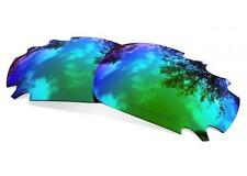Lentes SURE Recambio Polarizadas para Oakley Racing Jacket Vented Sapphire Green