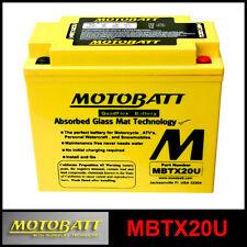 BATTERIE [MOTOBATT] MBTX20U = YTX20BS / YB16A (12 V 21 SCELLÉS EN ACTIVÉ