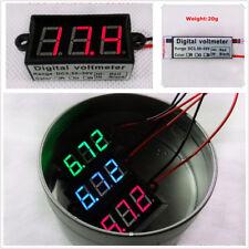 """Car Auto Micro 0.56"""" Digital Voltmeter Red LED Display Waterproof Panel Meter"""