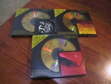 (3) 24K Gold CD's Alice Cooper Love it to Death School's Out Killer Sealed