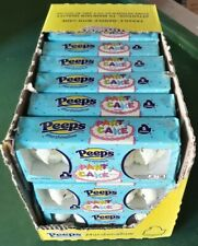 24x Marshmallow Funfetti Peeps Chicks Candy PARTY CAKE 120 Total Sealed Exp 9/20