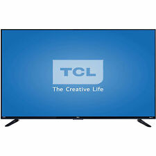 "TCL Roku 55"" Class - 4K Ultra HD, Smart, LED TV - 2160p, 120Hz (55US57), Refurbi"