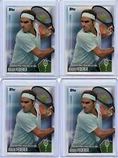 (Lot Of 4) 2019 Topps International Hall Of Fame Roger Federer Base #1 Lot