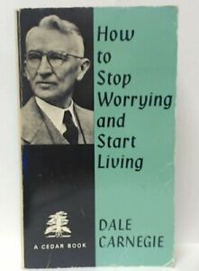 How to Stop Worrying and Start Living (Cedar Books) by Candia McWilliam Book The