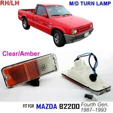 Mazda B2200; SE-5 Base Extended 2.2L 2184cc Pickup PARKING TURN LIGHT LAMP LH&RH