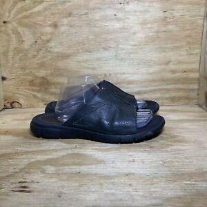 Cole Haan Lab Leather Slide Sandals, Men's size 11, Black