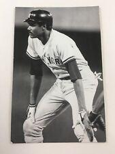 Omar Moreno (1983) New York Yankees Vintage Baseball Postcard NYY
