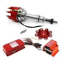 fits Ford 289 302 Windsor Pro Billet Distributor 6AL CDI Ignition & Coil Kit