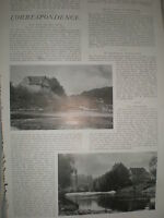 Photo article Ham Mill on the river Teme 1903 ref Y3