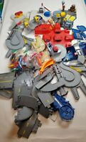 Vintage 1996 Mattel Hot Wheels World, Multiple Playsets & Lots of Track Pieces