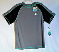 Laguna Men's Short Sleeve Loose T-Shirt Size M/M Grey Sun Protection UPF 50