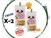 Lot of Two Bags - 8OZ MULVADI PANCAKE MIX GUAVA (Made only in Hawaii)