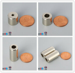 """Multiple Size 12.7mm 1/2""""Outer Diamter Rare Earth Neodymium Ring Magnets"""