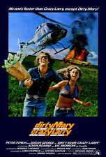 DIRTY MARY CRAZY LARRY Movie POSTER 27x40 B Peter Fonda Susan George Adam Roarke