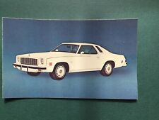 Chevrolet 1975 Malibu Classic Auto Advertising Vintage Postcard