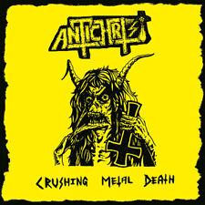 ANTICHRIST - Crushing Metal Death CD, NEU