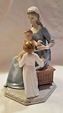 LLADRO #5996 Bless the Child Retired Madonna Mary Baby Jesus Child Religion MINT