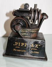 "Guhl & Harbeck "" PIPIFAX "" Hamburg Messerschärf-Maschine Messerschleifer antik"