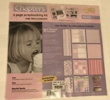 CHAPTERS SCRAPBOOKING KIT by Scrapbook Wizard ~ MY GIRL ~ 2004 ~ Out Of Print