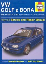 VW Golf and Bora 4-cyl Petrol and Diesel Service and Repair Manual: 2001-2003 (