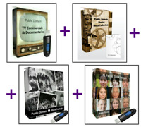 4in1 Public Domain Combo Sale: Movies, Rare Stock Footage and TV Commercials,