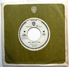 THE GROUP pop W.LABEL PROMO 45 Can't Get Enough Of Your Love Baby It's You F2091
