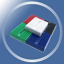 x10 Mini Arduino Breadboards (Random Colors) 170 Tie Points