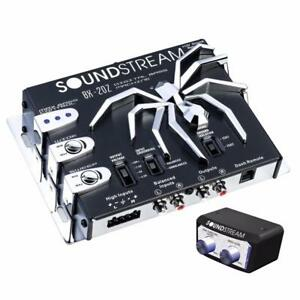 Soundstream BX-20Z Car Audio Digital Bass Driver Reconstruction Processor