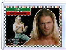 WWE Edge #16 2006 Topps Heritage I Chrome X-Fractor Insert Card