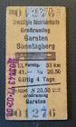 Eisenbahn Fahrkarte  1977  Großraming - Sonntagberg
