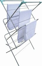 3 Tier Large Steel Clothes Airer Dryer Laundry Drying Hanger Horse 136x64x48cm