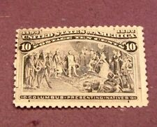 US Stamp Scott# 237  Columbus  Presenting Natives 1893 MNH  C249