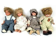Susan Wakeen (3) & (1) Swan collection Dolls Must See! Signed Limited Editions!