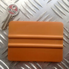 Gold Vinyl Application Tool Squeegee, stickerbombing sheets 101 x 75mm